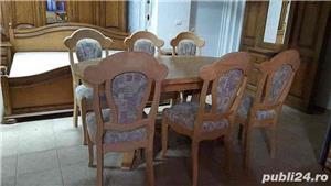Masa extensibila + 6 scaune - imagine 2