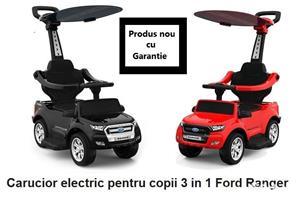 Carucior electric pentru copii 3 in 1 Ford Ranger - imagine 1