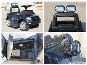 Carucior electric pentru copii 3 in 1 Ford Ranger - imagine 8