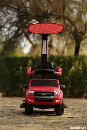 Carucior electric pentru copii 3 in 1 Ford Ranger - imagine 9