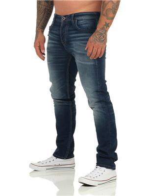Jeans Barbati Jack&Jones JJITIM JJLEON GE 227 I.K. NOOS Blue Denim NOU - imagine 4