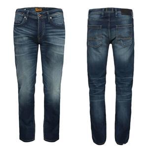 Jeans Barbati Jack&Jones JJITIM JJLEON GE 227 I.K. NOOS Blue Denim NOU - imagine 2