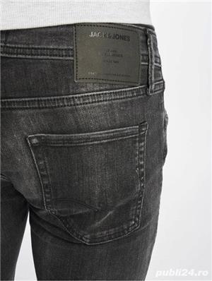 Jeans Barbati Jack&Jones JJIGLENN JJORIGINAL AM 817 NOOS Black Denim. Produs NOU. - imagine 3