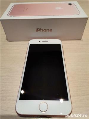 Iphone 7, 32gb, Rose Gold, liber de retea, baterie 90% , garantie 1 an - imagine 2