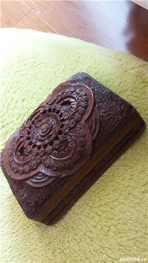 Cutie lemn vintage  - imagine 1
