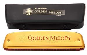 Muzicuta Hohner Golden Melody Tremolo, din Germania. - imagine 1