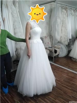 Vand rochie de mireasa noua marimea S - imagine 1