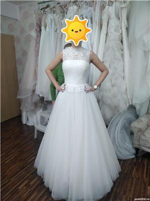 Vand rochie de mireasa noua marimea S - imagine 2