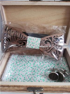 Papion din lemn - imagine 1
