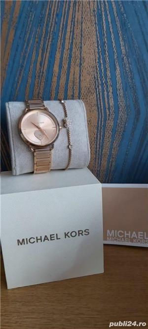 Ceas și brățară Michael Kors - imagine 2