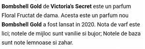 Bombshell Gold Victoria's Secret (nou) - imagine 5
