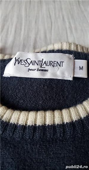 Pulover Yves Saint Laurent original - imagine 3