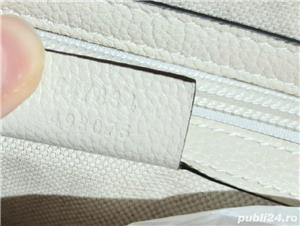Backpack Gucci White Print,  alb, nou, original 100% - imagine 5