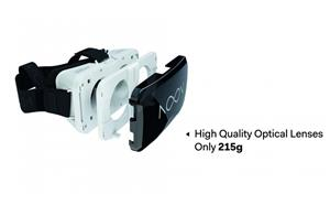 Ochelari Realitate Virtuala Noon VRG, Ochelari VR+ telecomanda - imagine 3