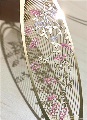 Idee cadou Semn de carte metalic norocos cumparat din Tokyo - imagine 4