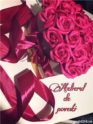 aranjament trandafiri de sapun  - imagine 5