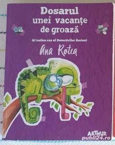 Colectie 4 volume Ana Rotea, impecabile, editura Arthur -  peste 10 ani - imagine 2
