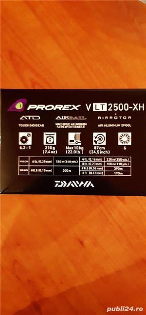 Mulineta Daiwa Prorex VLT 2500 XH - imagine 4