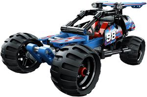 Lego Technic - Masina off road- 42010, piese 160 buc, 7 ani +  - imagine 2
