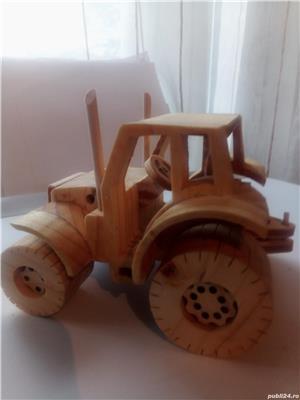 Tractor din lemn - imagine 6