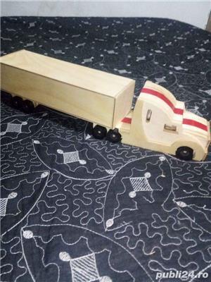 Cap tractor cu vagon - imagine 3