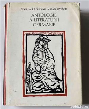 Antologie a literaturii germane, de Sevilla Raducanu, Jean Livrescu - imagine 1