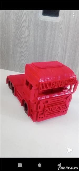 """Cap tractor """"Scania"""" personalizabil - imagine 3"""