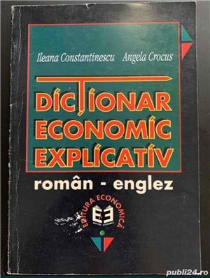 Dictionar economic explicativ roman englez - imagine 1
