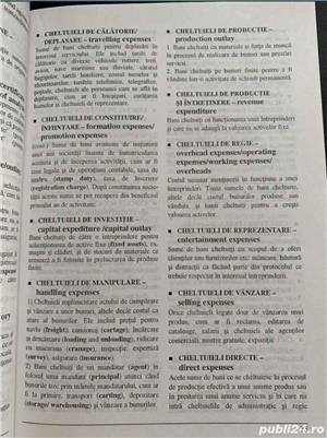 Dictionar economic explicativ roman englez - imagine 5