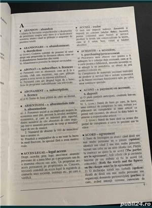 Dictionar economic explicativ roman englez - imagine 3