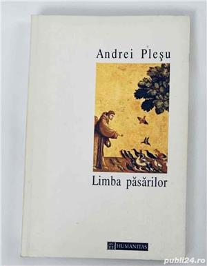 Limba pasarilor, de Andrei Plesu, Ed. Humanitas - imagine 1