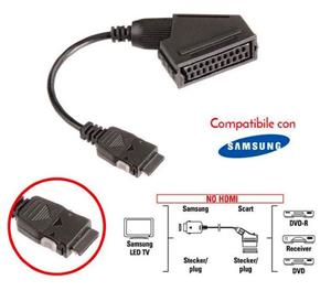 Cablu adaptor SCART BN39-01154A/BN39-01154F pentru TV - imagine 1