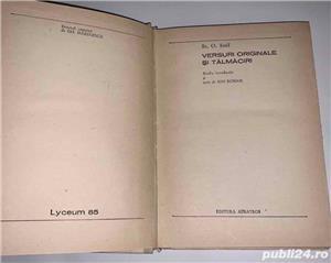 Versuri de St. O. Iosif, ed. Albatros 1970 - imagine 5
