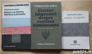 Constantin Noica, carti filozofice - imagine 3