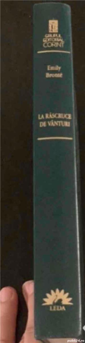 Emily Bronte, La rascruce de vanturi (Leda, Adevarul, BPT) - imagine 7