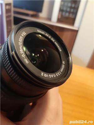 Dslr Nikon D5200+obiectiv VR2+accesorii - imagine 6