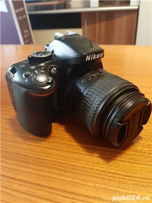 Dslr Nikon D5200+obiectiv VR2+accesorii - imagine 1