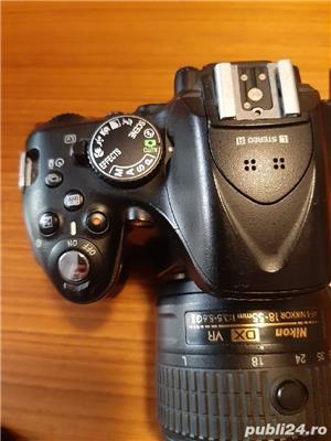 Dslr Nikon D5200+obiectiv VR2+accesorii - imagine 4