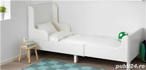 vand paturi extensibile copii cu baldachine si saltele incluse - imagine 2