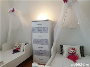 vand paturi extensibile copii cu baldachine si saltele incluse - imagine 1