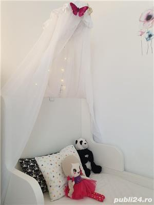 vand paturi extensibile copii cu baldachine si saltele incluse - imagine 6