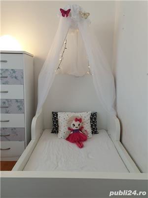 vand paturi extensibile copii cu baldachine si saltele incluse - imagine 7