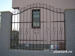 Confecționăm garduri din fier forjat din plăci de beton din șipcă metalică din plasă bordurată la  - imagine 2
