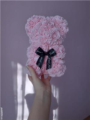 Ursuleti de trandafiri - Cadoul perfect!  - imagine 3
