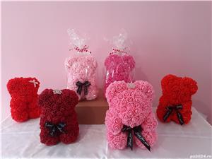 Ursuleti de trandafiri - Cadoul perfect!  - imagine 4