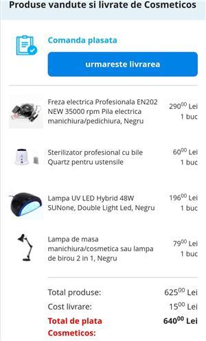 Lampă profesională UV/LED de 48W SunONE - imagine 7