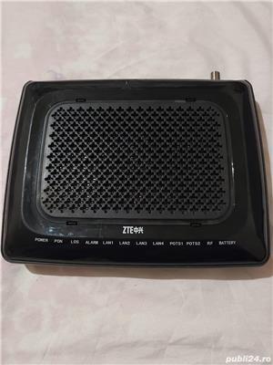 Convertor fibră optică ZTE (router)  - imagine 3