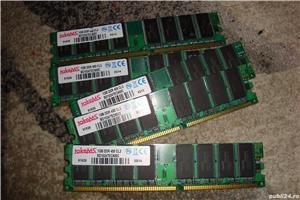 Memorie memorii ram ddr 400 1gb 5 placi 5gb - imagine 1