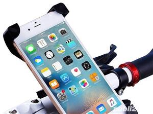Suport Telefon MRG L-CH01, Pentru bicicleta, Ajustabil, Negru C447 - imagine 4