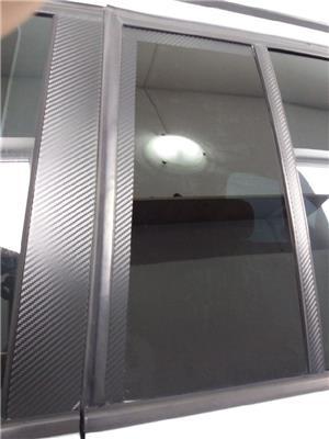 folie carbon 3d negru& argintiu - imagine 6